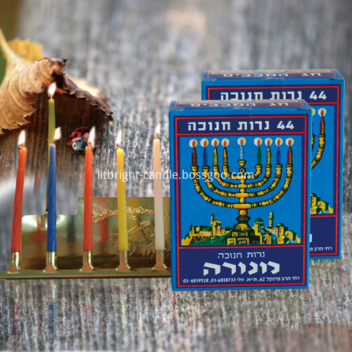 Smokeless Dripless and Fragrance Free Chanukah Candles