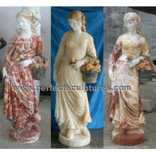 Сад камень мраморная скульптура для домашнего украшения (SY-C1233)