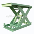 Stationary electric hydraulic one floor lift