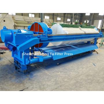 Filtre-presse rond automatique pour la production d'argile kaolin