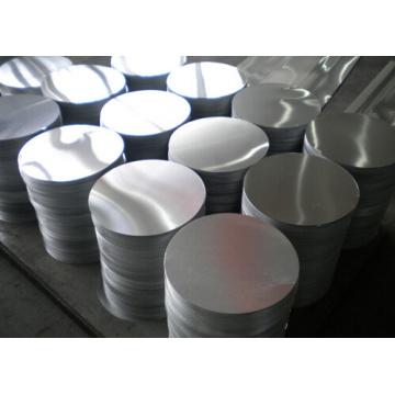 1050, 3003 Alloy Cookware Aluminio Círculo DC, Calidad Cc