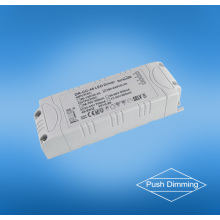 45w empujan el conductor llevado dimmable para los downlights