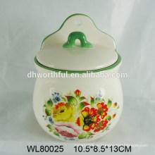 Conjunto de condimentos de cerámica creativa