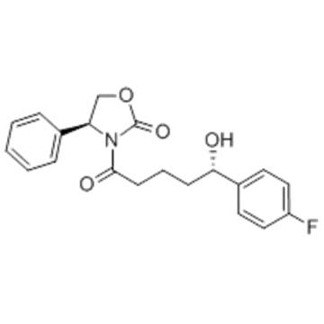 (4S)-3-[(5S)-5-(4-Fluorophenyl)-5-hydroxypentanoyl]-4-phenyl-1,3-oxazolidin-2-one CAS 189028-95-3
