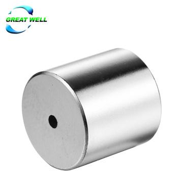 Промышленный магнит цилиндра неодимовый магнит