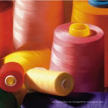 Hilo de coser 100% del poliéster 20s / 3 12000y
