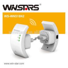 Repetidor de redes WLAN de 2,4 GHz, repetidor sem fio WLAN 802.11n (Draft 2.0) com antenas integradas