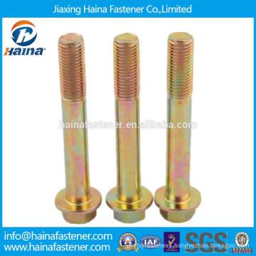 China supplier DIN6921 hex flange bolt