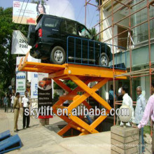 Mesa de elevación de coche de cilindro de aire