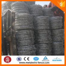 Fábrica de fornecimento galvanizado navalha arame farpado malha esgrima