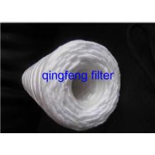 Cartucho filtrado de água ferida em corda PP