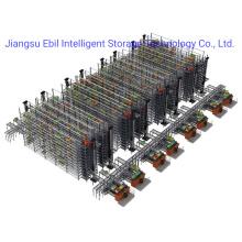 Ebil-Steel Q235B Heavy Duty Radio Shuttle Pallet Racking