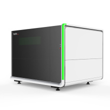 Jinan Bodor i5 small cnc fiber laser cutting machine with protective cover