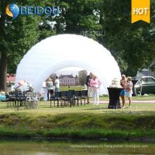 События Вечеринка Свадебное украшение Большие купол выросли палатки Надувные выставки Палатка