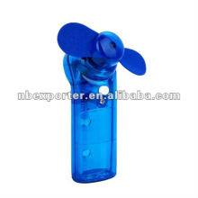 Mini fan with water spray