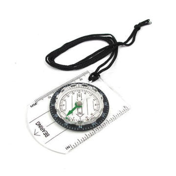 OEM Portable Wearable Ruler Compass with Rope for Promotion