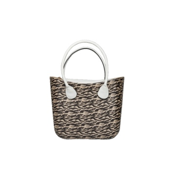 Leopard print sexy lady EVA handbags beach