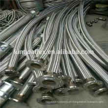 Hohe Temperatur 4 Zoll Hochtemperatur Flexible Metallschlauch für Warmwasserbereiter