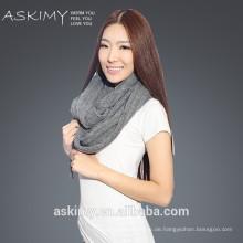 Mode Damen stricken Unendlichkeit Schal