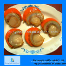 High quality frozen cooked scallop iqf