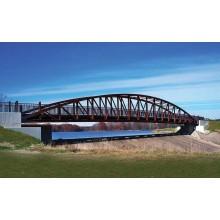 Стандартная конструкция стальной конструкции фермы моста