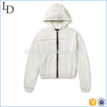 Jersey And Twill Hoodie streetwear hoodies 400gsm for men manufacturer in China