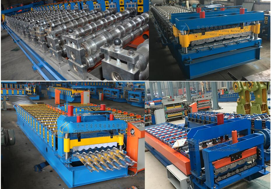galzing tiles making machine main parts