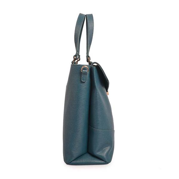 fashion leather hand bags women shoulder strap bag business tote bag