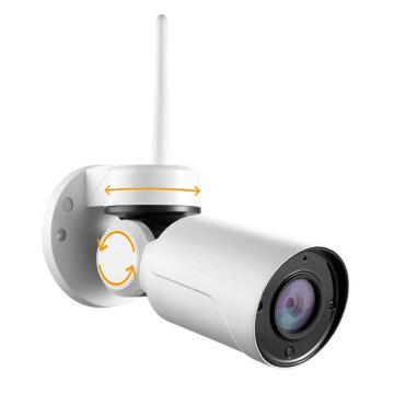 Bala exterior pequena da câmera do IP de Wifi do tamanho pequeno com serviço da nuvem da função do P2P
