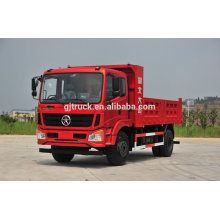 Dayun brand 4X2 drive dump truck for 6-20 cubic meter