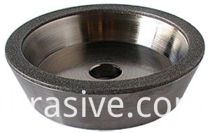ELECTROPLATED DIAMOND 11A2 TAPER CUP WHEEL