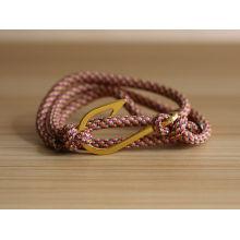 2016 produtos mais populares âncora e pulseira de gancho mulheres