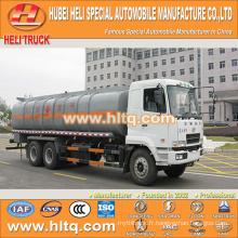 CAMC 6x4 18CBM camion citerne anti-corrosion à vendre, usine de porcelaine