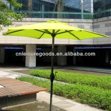 qualité pas cher extérieur patio parasol en métal