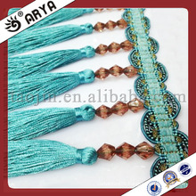 Decorative Long Tassel Fringe,Trim for Curtain,curtain embroidery