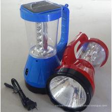 Lumière solaire de lampe de lanterne de camping de LED de l'usine ISO9001
