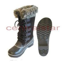 Botas de nieve de moda hasta la rodilla de invierno (SB042)