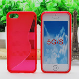 S Style TPU Cell Phone Case for iPhone 5g/S