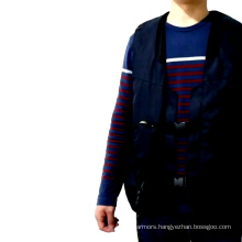 Air bag vest for equestrian