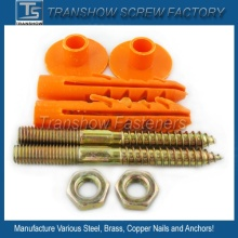 Bolt Nut Anchor Cap Sanitary Fixing Kit