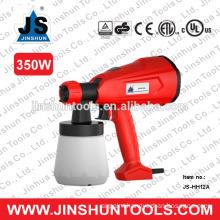 Three spray pattern HVLP varnish paint spray gun 350W JS-HH12A