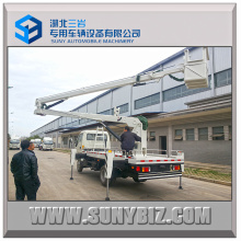 Forland 18m High Opertation Platform Truck with Glass Fiber Platform