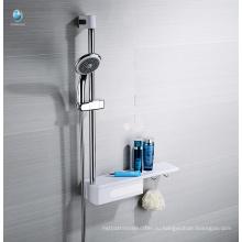 Аксессуары для ванной комнаты Многофункциональный выдвижной полкой рельса с держатель для хранения