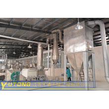 Máquina de secado por destello de carbonato de sodio