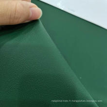 Cuir PVC de luxe modeste de 0,6 mm