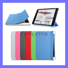 PU Smart Case for iPad Mini Leather Cover Fold Stand (CASE-515)