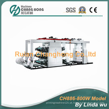 Seis cores PP tecido tecido Flexo máquina de impressão (CH886-800W)