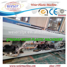 Recycled PE material pipes extrusion machinery