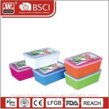 Plastic redondo microondas comida Container(1.65L/2.5L)