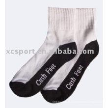Chaussettes de sport en coton jacquard